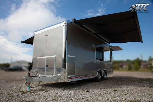 28 ft, ATC, Vending Concession Trailer, Mobile Marketing, Merchandise Trailer, Product Display Trailer, Custom Trailer, MO Great Dane