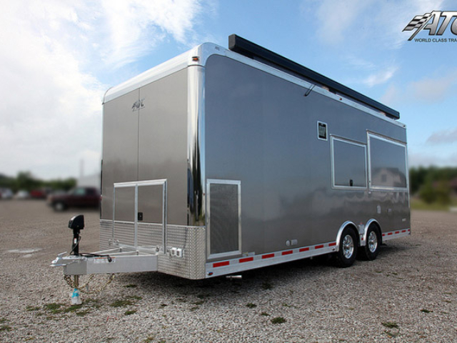 Concession Trailer for Sale - ,700 w/o Optional Generator Package