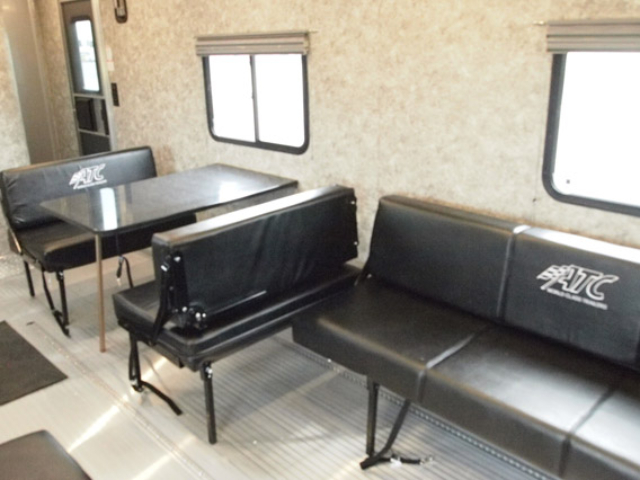 28 ft, Car Hauler, Aerodynamic, Aluminum, Toy Hauler, Custom Trailer, MO Great Dane, ATC