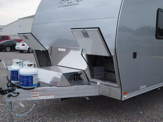 28 ft, Car Hauler, Aerodynamic, Aluminum, Toy Hauler, Custom Trailer, MO Great Dane, ATC