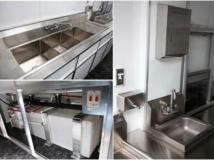 3 Compartment Sink, Kitchen, Bath, Plumbing, Cutom Trailer, Options