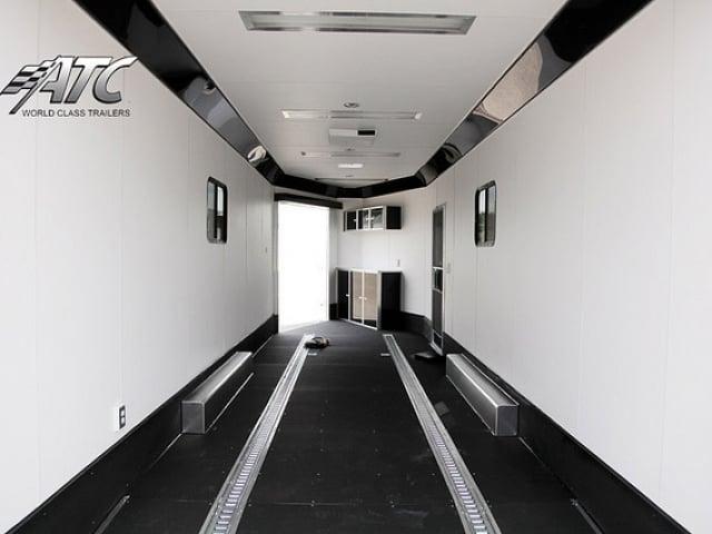 Custom Trailers, Car Hauler, Sport, Snowmobile, 30 ft, V