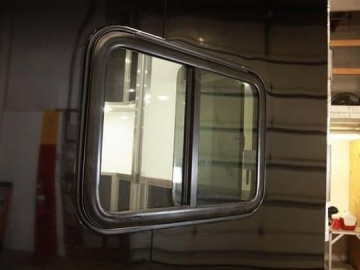 30 x 22 Slider Window, Windows, Vents, Custom Trailer, Options