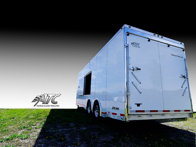Custom Trailers, Car Hauler, Sport, Gooseneck Race, 32 ft ATC Quest