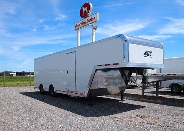Gooseneck Trailers - 32ft Enclosed Gooseneck Cargo Trailer