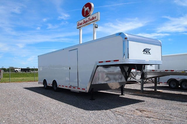 Custom Trailers, Gooseneck, 32ft, Enclosed, Cargo