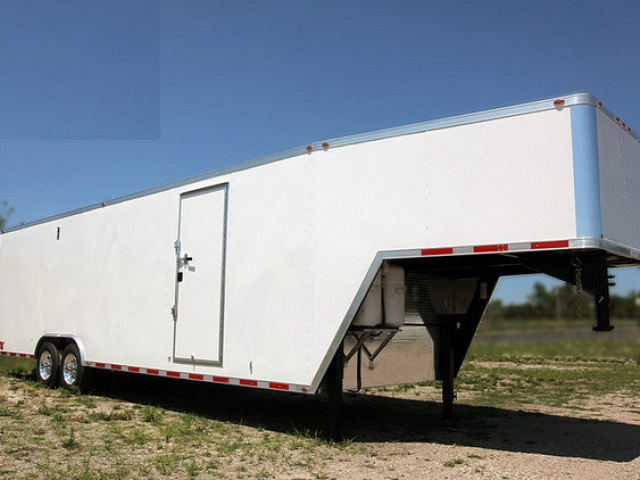 32' Gooseneck Enclosed Trailer