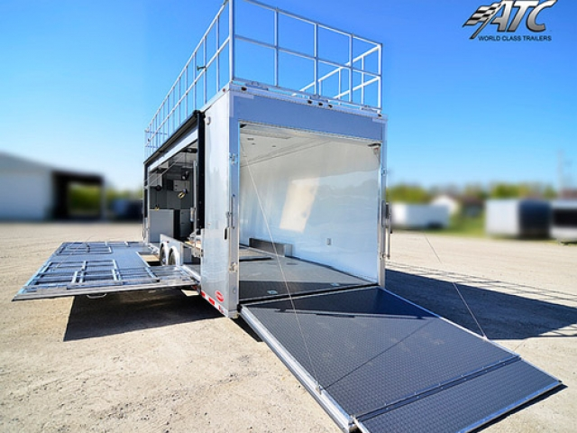 Custom Trailers, Mobile Marketing, 32ft, Trade Show, Marketing