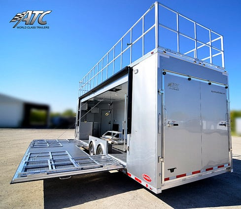 32ft Mobile Trade Show Marketing Trailer Mo Great Dane