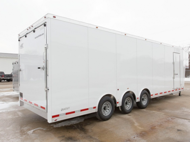 Custom Trailers, Gooseneck, 36 ft, Aluminum, Cargo