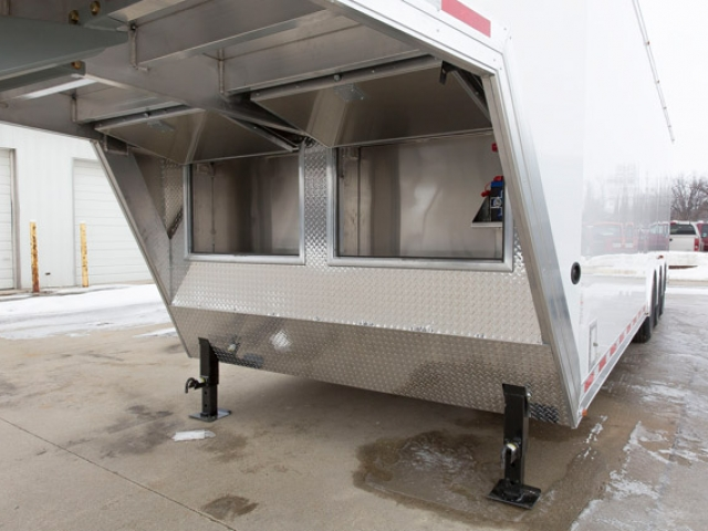 36 Ft Aluminum Gooseneck Cargo Trailer Mo Great Dane