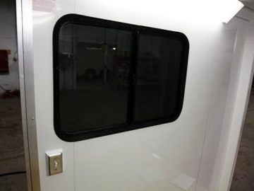 36 x 24 Slider Window, Windows, Vents, Custom Trailer, Options