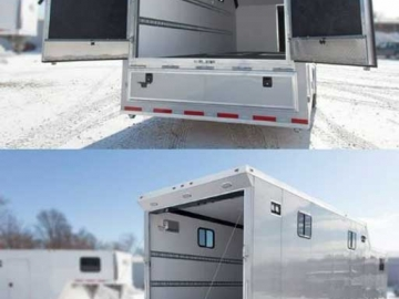 Ramp Door Double Door Combo, Custom Trailer Options