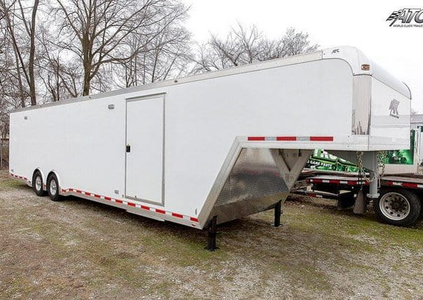 Car & Sports Trailers - Car Hauler - Goosesneck Race - 40ft ATC Factory Stock Gooseneck Race Trailer