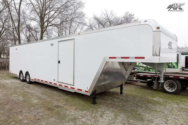 40 ft ATC Factory Stock Gooseneck Race Trailer