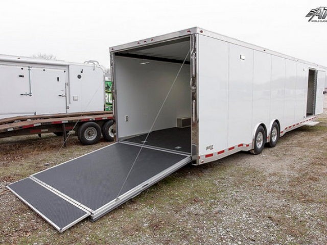 Custom Trailer, Car Hauler, Sport, Gooseneck Race, 40ft ATC Factory Stock Gooseneck