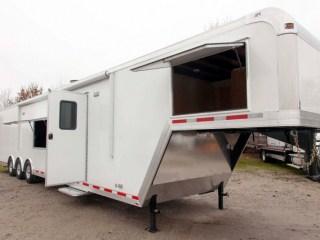 Custom Trailers, Gooseneck, 44ft, Enclosed