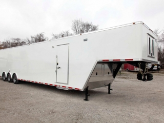 Custom Trailers, Gooseneck, 48ft, Air Ride, Cargo