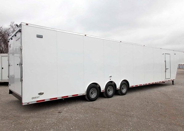 Gooseneck Trailers - 48ft Air Ride Gooseneck Cargo Trailer