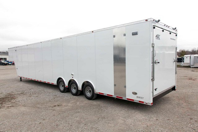 48 Ft Air Ride Gooseneck Cargo Custom Trailer Mo Great