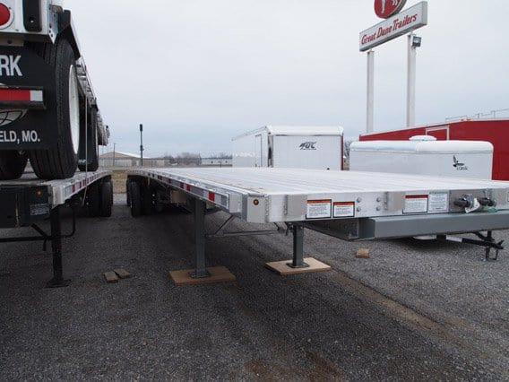 48 ft Aluminum Flat Bed, Great Dane Trailer