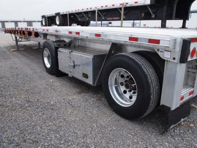 48 ft Aluminum Flat Bed, Great Dane Trailer
