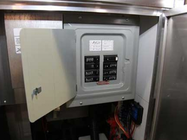 50 Amp Service Panel, Voltage, Custom Trailer Options