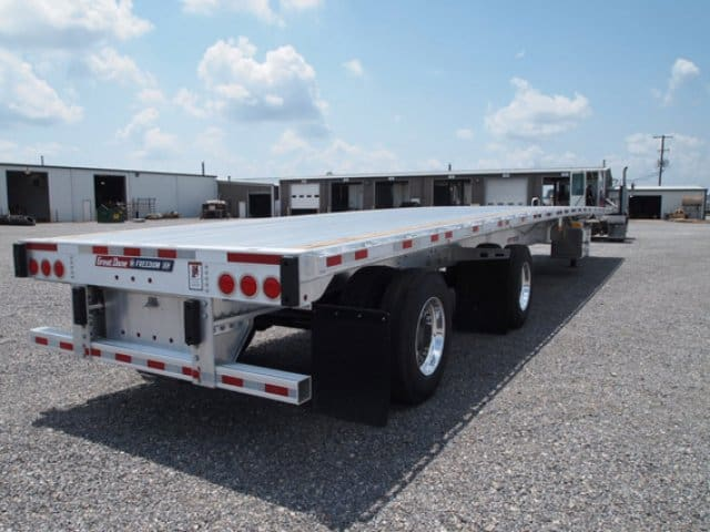 Great Dane, 53 ft, Aluminum, Flat Bed