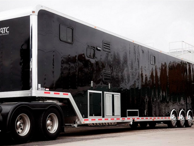 53ft Race Trailer With Custom Living Quarters Mo Great Dane Trailers