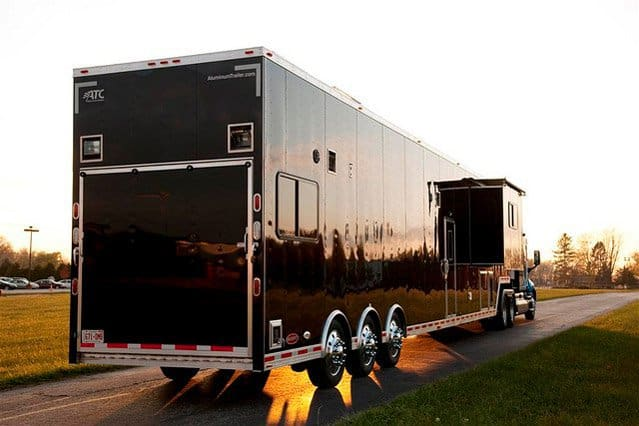 Car Hauler Race Trailers With Living Quarters Mo Great ...