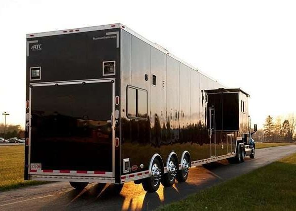 Car Hauler - Race Trailers with Living Quarters 8