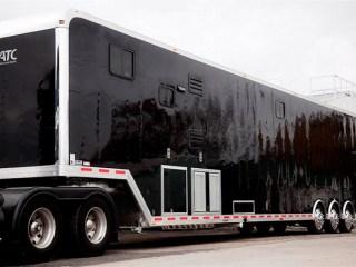 Custom Trailers, Semi, 53 ft, Race, Car, Living Quarters