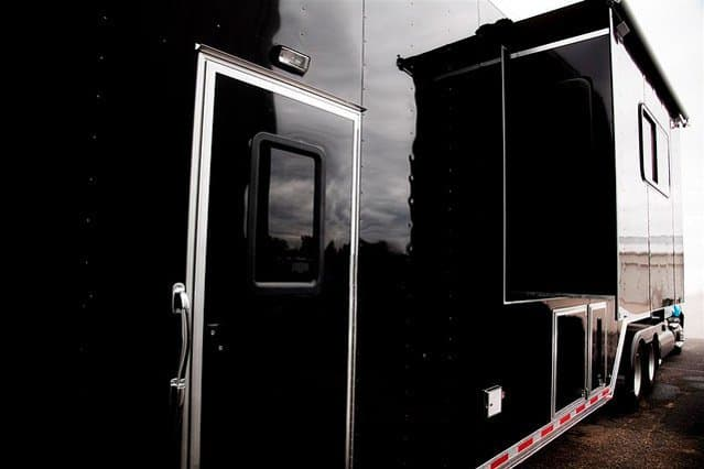 Custom Trailers, Semi, 53 ft, Race, Car, Living Quarters