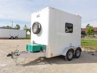 6x10 Fiber Optic Splicing Trailer