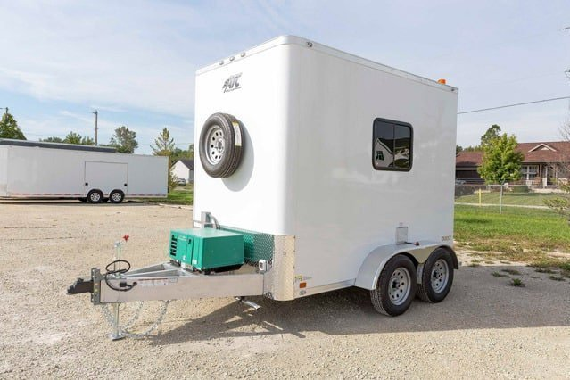 6x10 Aluminum Frame Cable Splice Trailer – MO Great Dane trailers