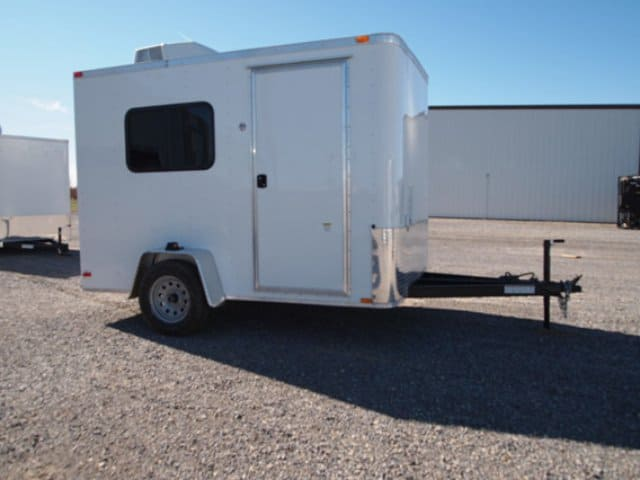 6x10, Guard Shack Trailer, Office Trailer, Classroom Trailer, Custom Trailer