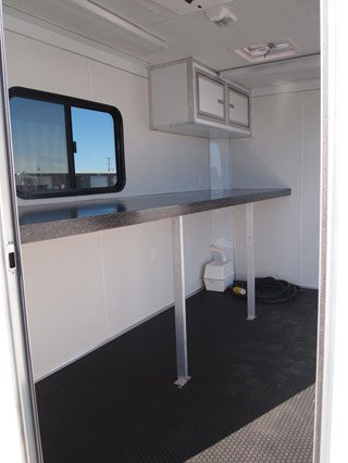 Custom Trailers, In Stock, 6ft, 10ft, Steel Frame, Fiber Optic