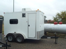 Custom Trailers, Fiber Optic, 6ft, 10ft,  Tandem, Axle, Splicing