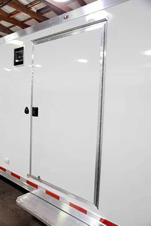 Flush Lock Side Door, Custom Trailer Options