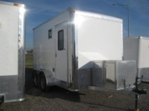 Custom Trailers, Fiber Optic, 7ft, 12ft, Aluminum