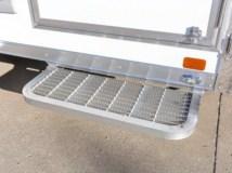7x12 Aluminum Frame Fiber Optic Trailer