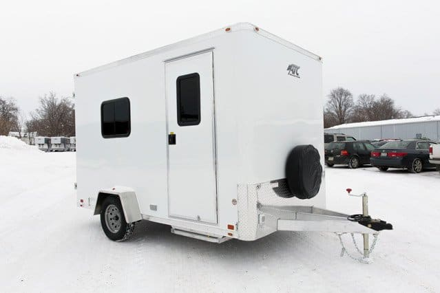Small Office Trailer Custom Trailers Mo Great Dane