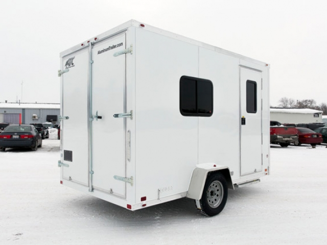120 Volt Winch >> Small Office Trailer - Custom Trailers | MO Great Dane ...