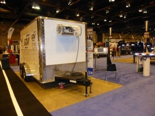 Custom Trailers, Refrigerated, Cargo, 7ft, 12ft, Cooler