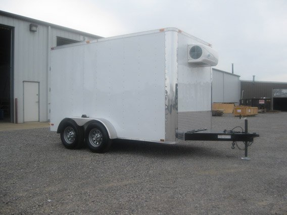 7x12 Cooler Trailers Refrigerated Trailers Mo Great