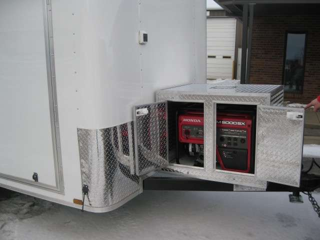 7x12 Fiber Optic Trailer Generator