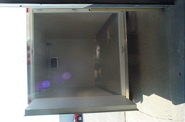 Custom Trailers, Refrigerated, Cargo, 7ft, 12ft, Refrigerated, Cargo