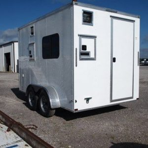 Fiber Optic - In Stock - 7x12 Steel Fiber Optic Trailer