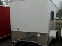 Custom Trailers, Fiber Optic, 7ft, 12ft, Steel