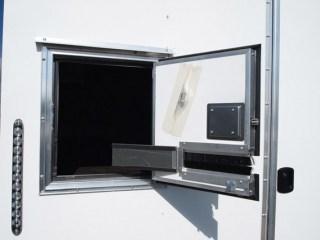 7x12, Steel, Fiber Optic Trailer, In Stock, Custom Trailer